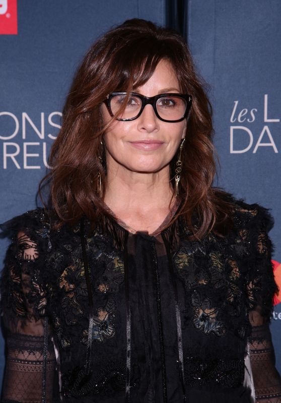 Gina Gershon – 'Les Liaisons Dangereuses' Opening Night at the Booth Theatre in NY 10/30/2016
