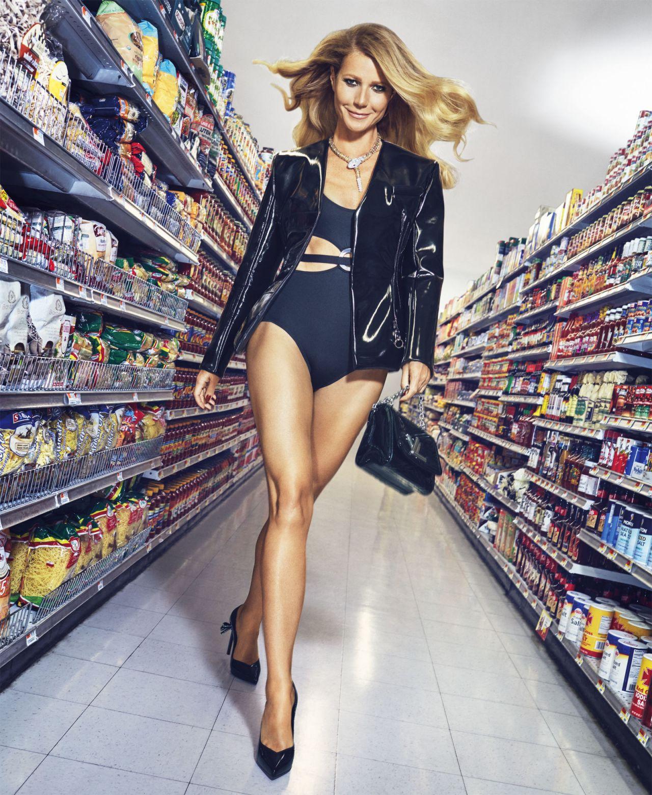Sexy Gwyneth Paltrow Harper's Bazaar Nov 2016 Photoshoot