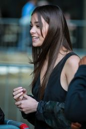 Hailee Steinfeld at BBC Radio One in London, UK 10/05/2016