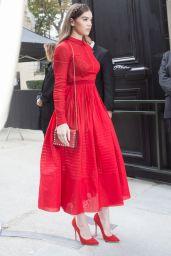 Hailee Steinfeld - Valentino Show at Paris Fashion Week 10/2/2016