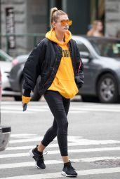 Hailey Baldwin Street Style - NYC 10/8/2016