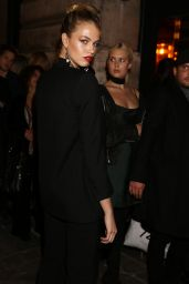 Hailey Clauson - L'Oreal Gold Obsession Party in Paris 10/2/2016