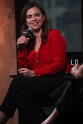 Hayley Atwell - AOL BUILD Series for Conviction in New York City 10/2/2016