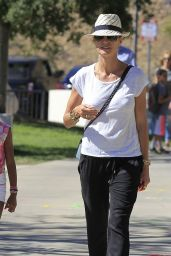 Heidi Klum at a Fair in Beverly Hills 10/10/2016