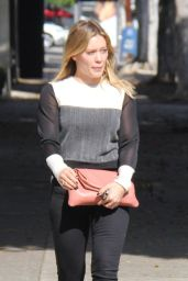 Hilary Duff Cute Outfit Ideas - Shopping in Beverly Hills 10/26/ 2016