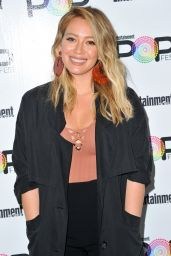 Hilary Duff - Entertainment Weekly PopFest in Los Angeles 10/30/ 2016
