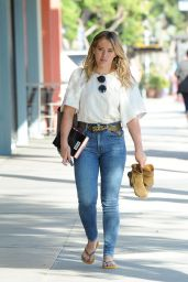 Hilary Duff - Leaving Sunset City Nails in Studio City 10/14/ 2016