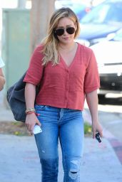 Hilary Duff - Out and about in Los Angeles - 10/19/ 2016