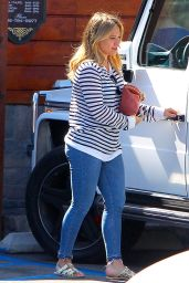 Hilary Duff - Out for Breakfast in Studio City 10/15/ 2016