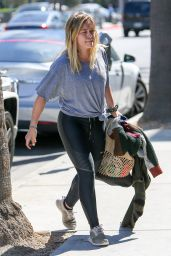 Hilary Duff - Out in Beverly Hills 10/5/ 2016