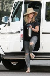 Hilary Duff Street Style - Beverly Hills 10/9/ 2016