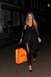 Imogen Thomas - 7th Heavens Halloween Spa In London 10/25/ 2016