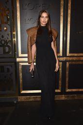 Irina Shayk at Gold Obsession Party – Paris Fashion Week 10/2/2016