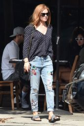 Isla Fisher - Running Errands in West Hollywood, CA 10/11/2016
