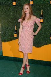 Isla Fisher – Veuve Clicquot Polo Classic in Los Angeles 10/15/ 2016
