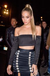 Jasmine Sanders Arriving at the L