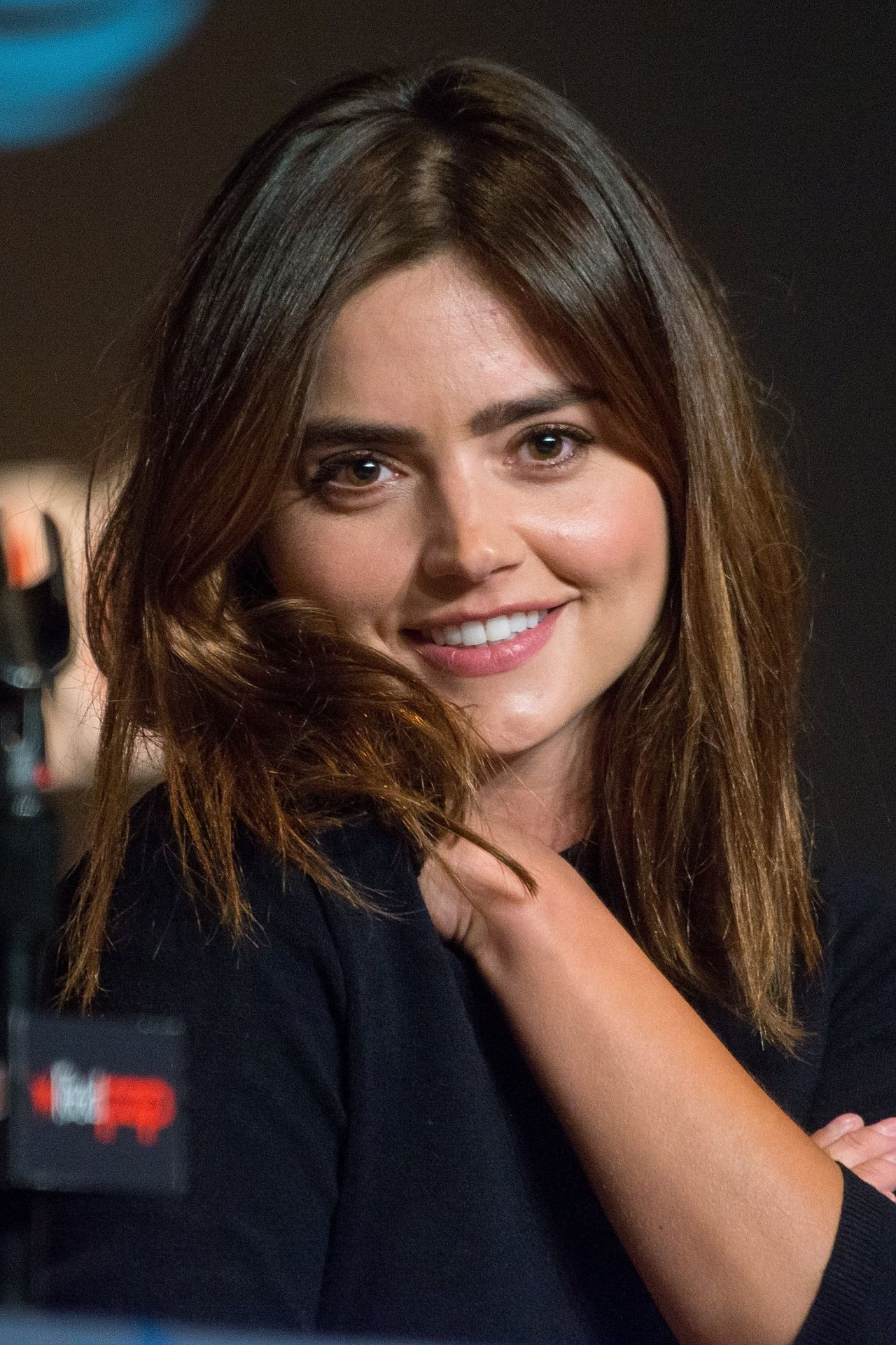 Jenna Coleman Doctor Who Panel At New York Comic Con