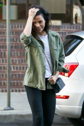 Jenna Dewan at Beverly Hills Dermatology 10/18/2016