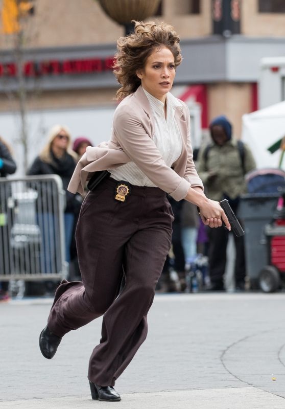 Jennifer Lopez - On the Set of