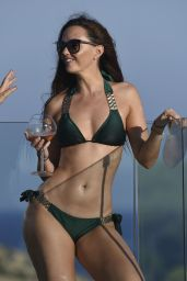 Jennifer Metcalfe Chills by the Pool at the ME Hotel in Ibiza 10/14/2016