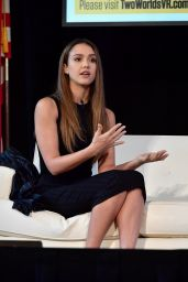 Jessica Alba - 2016 Forbes Under 30 Summit in Boston