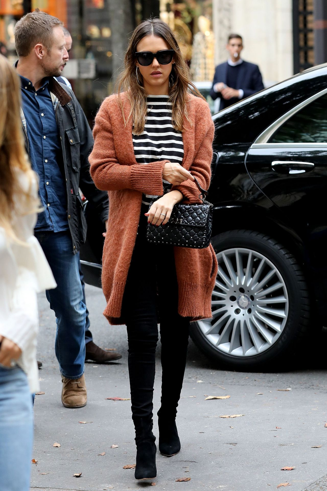 Jessica Alba Casual Style Shopping In New York City 10 1 2016