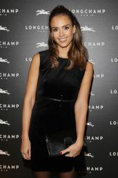 Jessica Alba - Longchamp : Cocktail at Paris Fashion Week 10/04/ 2016