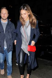 Jessica Alba Style - Out in NYC 10/21/ 2016