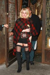 Jessica Simpson at Lil Frankie Restaurant in New York City 10/23/ 2016