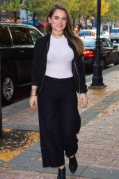 Joanna JoJo Levesque - Promotes Mad Love at Fox 29