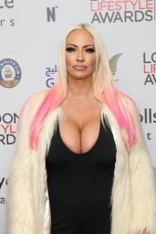 Jodie Marsh at London Lifestyle Awards at Lancaster London Hotel 10/3/2016