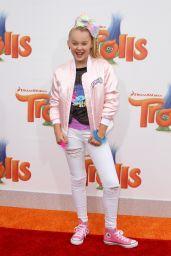 JoJo Siwa – 'Trolls' Premiere in Westwood – 10/23/ 2016