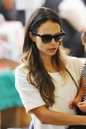 Jordana Brewster Shopping in Los Angeles 10/16/ 2016