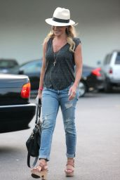 Julie Benz - Leaving Bristol Farms in West Holywood 10/10/2016