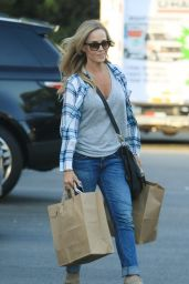 Julie Benz - Leaving Bristol Farms in West Holywood 10/4/2016