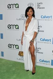Karrueche Tran - 2016 EMA Awards at Warner Bros in Studios in Burbank