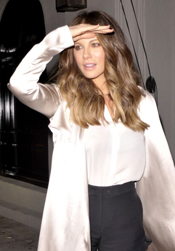 Kate Beckinsale - Leaving Craig's Restaurant in West Hollywood, October 2016
