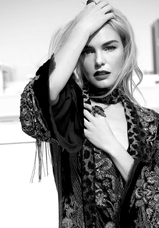 Kate Bosworth - Fashion Magazine October 2016 Cover and Pics