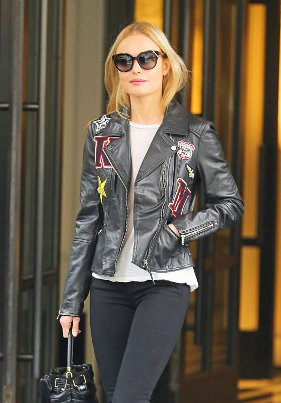 Kate Bosworth Urban Outfit - Leaving Her Hotel in NYC 10/28/2016