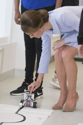 Kate Middleton - Robotics Class at Bouwkeet Workshop Project for Teenagers in Rotterdam, NL 10/11/2016