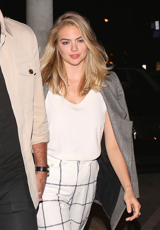 Kate Upton at Catch L.A. in West Hollywood, October 2016