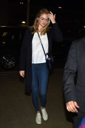 Kate Upton at LAX Airport in Los Angeles 10/12/2016