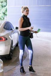 Kate Upton - Going to a Meeting at Hinoki and The Bird Restaurant in Century City