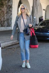 Kate Upton - Leaving a Hair Salon in Beverly Hills 10/18/ 2016