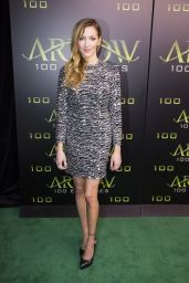 Katie Cassidy – Celebration Of 100th Episode of 'Arrow' in Vancouver 10/22/ 2016