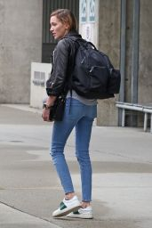 Katie Cassidy Travel Outfit - Airport Candids 10/6/2016