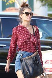 Katie Holmes - Out in Calabasas, CA 10/13/ 2016