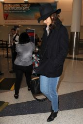 Katie Holmes Travel Outfit - LAX in LA 10/24/ 2016