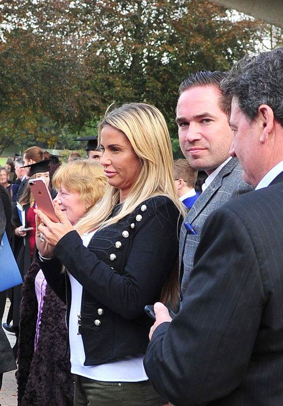 Katie Price - Chichester University, West Sussex, England 10/24/2016