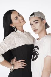 Katy Perry and James Charles - Photoshoot for COVERGIRL